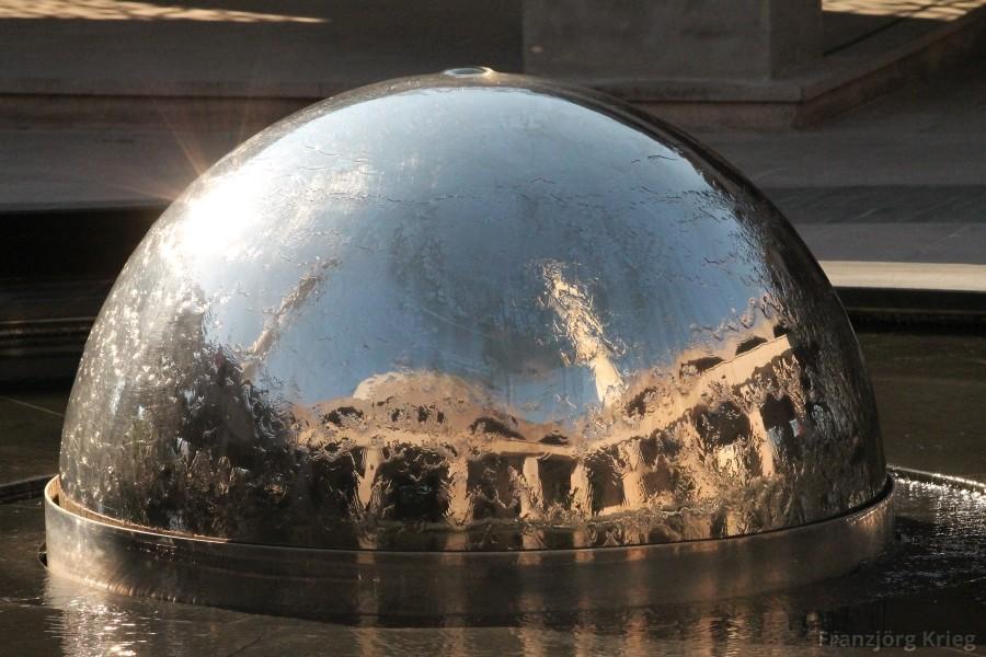 Der Brunnen der Sakirin-Moschee