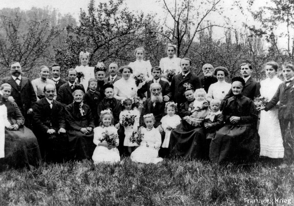 Goldene Hochzeit am 05.05.1913